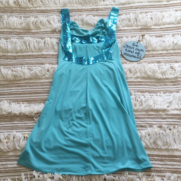 Charlotte Russe - Tiffany Blue Cocktail Dress By Charlotte Russe ...